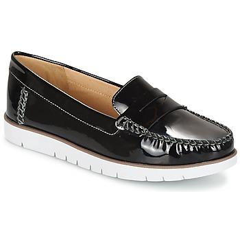 Chaussures Femme Derbies Geox D KOOKEAN F Noir