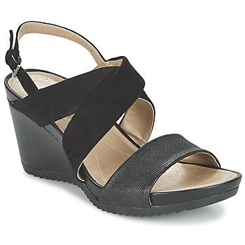 Chaussures Femme Sandales et Nu-pieds Geox D NEW RORIE A Noir