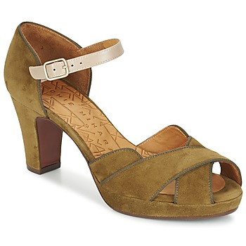Chaussures Femme Sandales et Nu-pieds Chie Mihara ISY Kaki