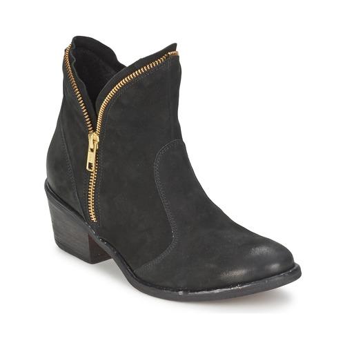 Chaussures Femme Boots Casual Attitude CALIEL Noir