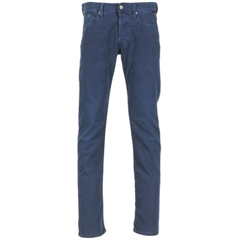 Vêtements Homme Jeans droit Replay WAITOM Marine