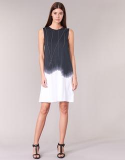Vêtements Femme Robes courtes Replay WOOPINA Noir / Blanc