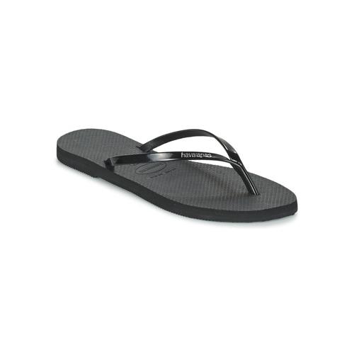 Chaussures Femme Tongs Havaianas YOU METALLIC Noir