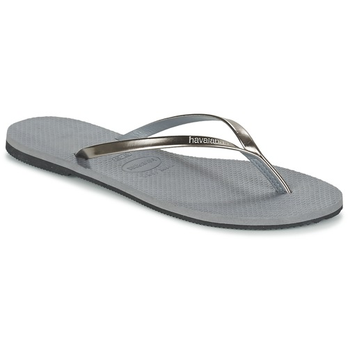 Chaussures Femme Tongs Havaianas YOU METALLIC Gris
