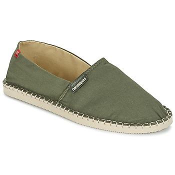 Chaussures Espadrilles Havaianas ORIGINE III Vert