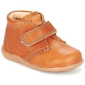 Chaussures Enfant Boots Kavat HAMMAR Marron