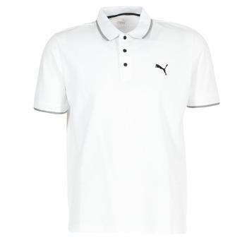 Vêtements Homme Polos manches courtes Puma PUMA HERO POLO Blanc