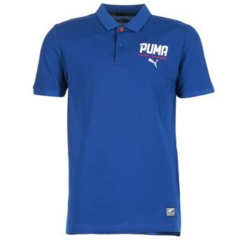 Vêtements Homme Polos manches courtes Puma STYLE TEC POLO Bleu