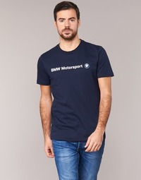 Vêtements Homme T-shirts manches courtes Puma BMW MSP LOGO TEE Marine