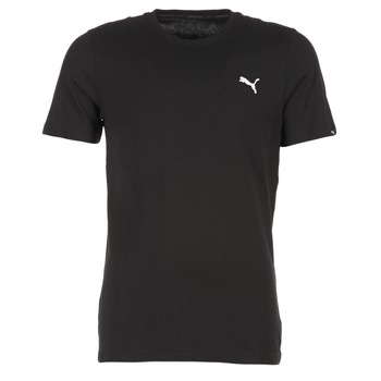 Vêtements Homme T-shirts manches courtes Puma ESS TEE Noir