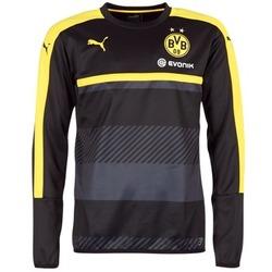 Vêtements Homme Sweats Puma BVB TRAINING SWEAT Noir / Jaune