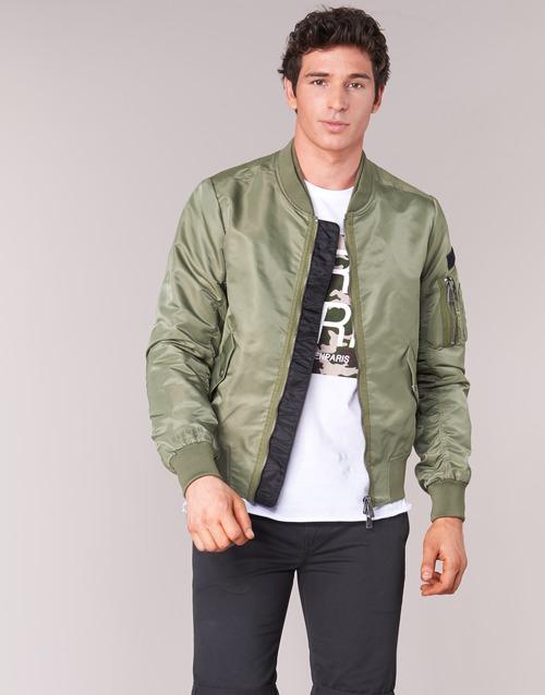 Vêtements Homme Blousons Eleven Paris JUXY Kaki