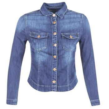 Vêtements Femme Vestes en jean Le Temps des Cerises LILLYM Bleu Médium