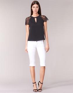 Vêtements Femme Pantacourts Le Temps des Cerises NINA Blanc