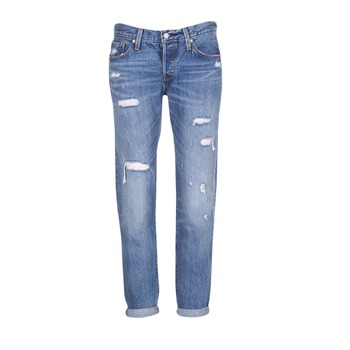 Vêtements Femme Jeans boyfriend Levi's 501 CT Radio Star