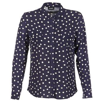 Vêtements Femme Chemises / Chemisiers Kookaï HOLIAVE Marine / Blanc