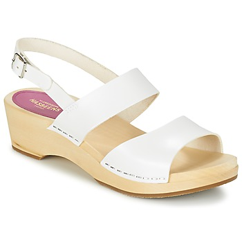 Chaussures Femme Sandales et Nu-pieds Swedish hasbeens HELENA Blanc
