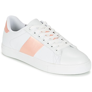 Chaussures Femme Baskets basses Spot on REVILLIA Blanc / Rose