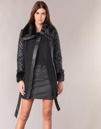 Vêtements Femme Manteaux Morgan GEFROU Noir