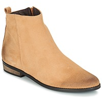 Chaussures Femme Boots So Size GARENA Beige