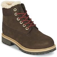 Chaussures Air max tnEnfant Boots Timberland 6 IN PRMWPSHEARLING Marron