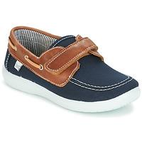 Chaussures Garçon Chaussures bateau Citrouille et Compagnie GASCATO Marine / Marron