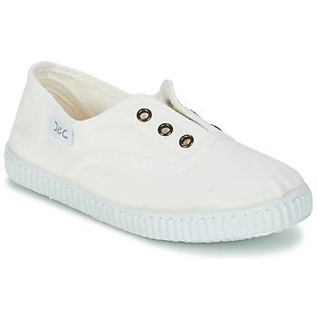 Chaussures Enfant Baskets basses Citrouille et Compagnie GAMBOUTA Blanc