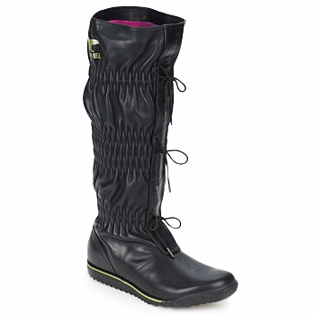 Chaussures Femme Bottes ville Sorel FIRENZY Noir