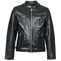 Vêtements Homme Vestes en cuir / synthétiques Schott LC 940 D Noir