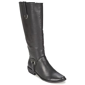 Chaussures Femme Bottes ville Les P'tites Bombes ADAGIO Noir
