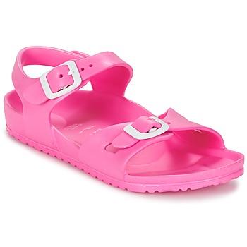 Chaussures Enfant Sandales et Nu-pieds Birkenstock RIO EVA Rose fluo