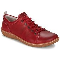 Chaussures Femme Derbies Birkenstock ISLAY Rouge
