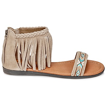 Chaussures Femme Sandales et Nu pieds Minnetonka MOROCCO Taupe