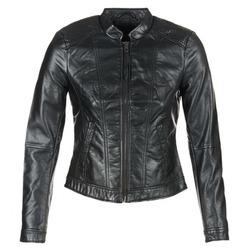 Vêtements Femme Vestes en cuir / synthétiques Vero Moda QUEEN Noir