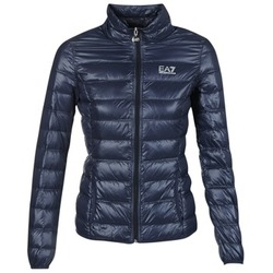 Vêtements Femme Doudounes Emporio Armani EA7 TRAIN CORE LADY W LT DOWN JACKET Marine