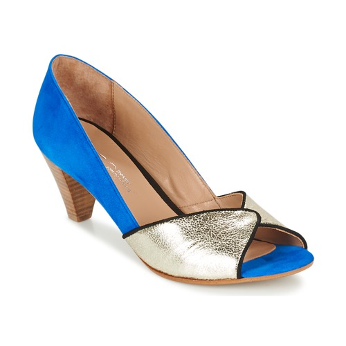Chaussures Femme Escarpins Betty London GABYN Bleu / Doré