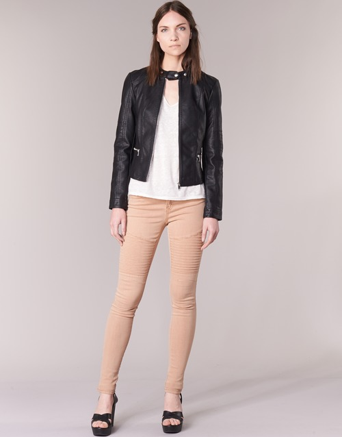 Vêtements Femme Pantalons 5 poches Noisy May EVE Rose