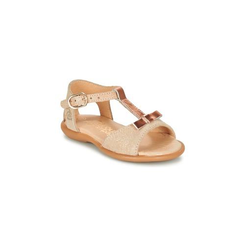 Chaussures Fille Sandales et Nu-pieds Citrouille et Compagnie GUGULE Doré