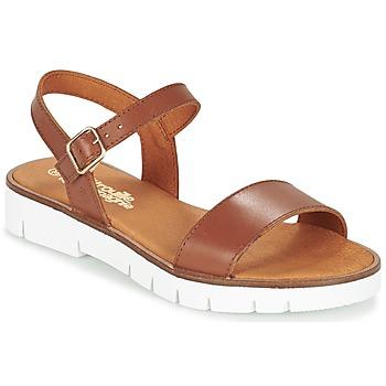 Chaussures Fille Sandales et Nu-pieds Citrouille et Compagnie GAPOTI Camel