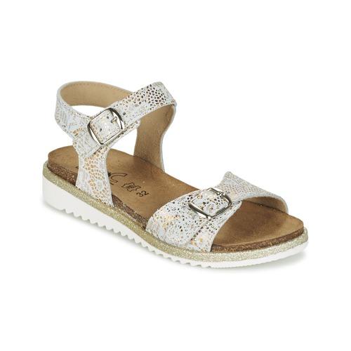 Chaussures Fille Sandales et Nu-pieds Citrouille et Compagnie GUAFRETTE Doré