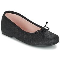 Chaussures Air max tnFille Ballerines / babies Citrouille et Compagnie GLIGLO Noir pailleté