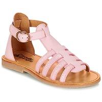 Chaussures Fille Sandales et Nu-pieds Citrouille et Compagnie JASMA Rose