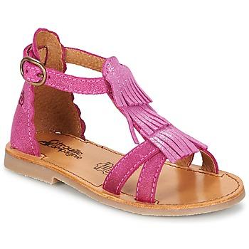 Chaussures Fille Sandales et Nu-pieds Citrouille et Compagnie GAMELA Rose