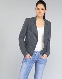 Vêtements Femme Vestes en cuir / synthétiques Only AVA Marine