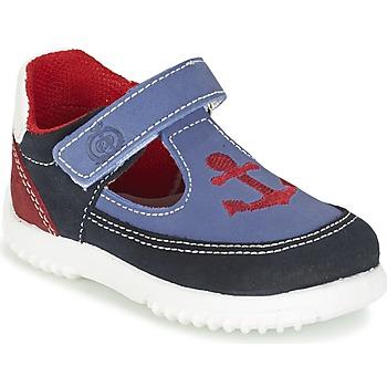 Chaussures Garçon Sandales et Nu-pieds Citrouille et Compagnie GANDAL Bleu / Rouge
