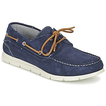 Chaussures Homme Chaussures bateau Casual Attitude GAPENA Marine