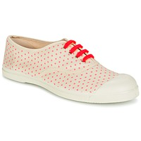 Chaussures Femme Baskets basses Bensimon TENNIS MINIPOIS Ecru / Rose