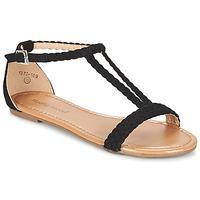 Chaussures Femme Sandales et Nu-pieds Moony Mood GEMINIELLE Noir