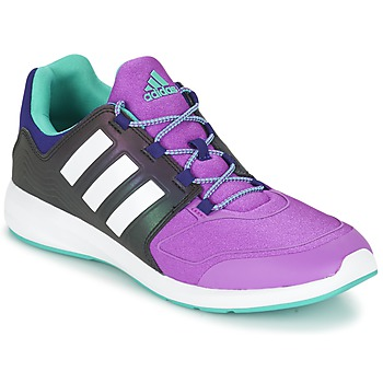 Chaussures Enfant Baskets basses adidas Originals S-FLEX K Noir / violet