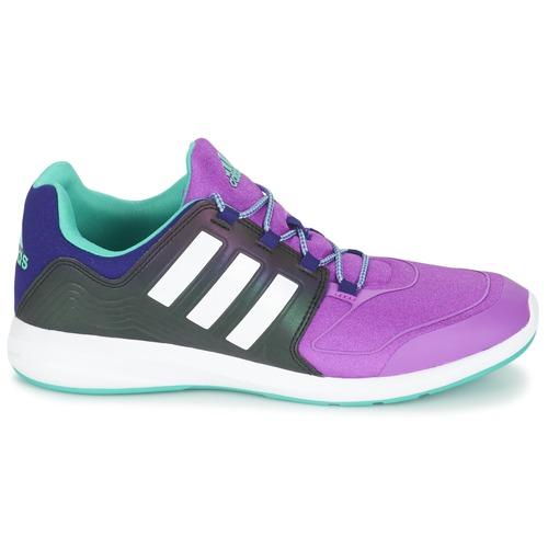 adidas Performance S-FLEX K Noir / violet